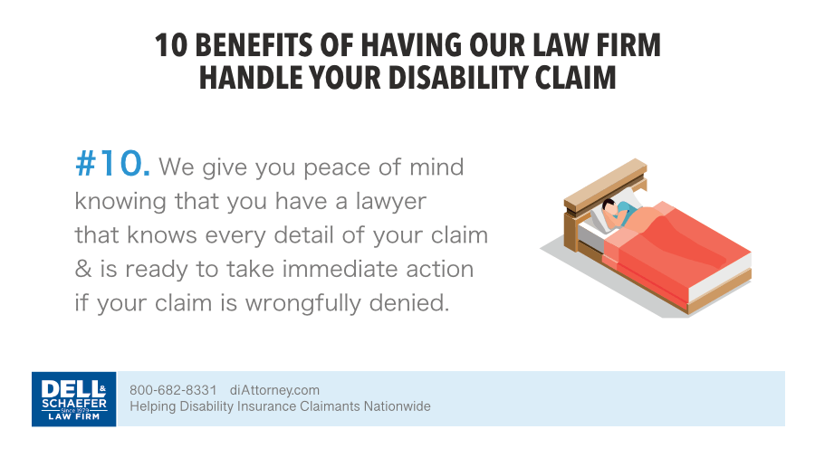 10. We give you peace of mind 