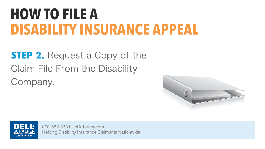 2. Request A Copy Of The Claim File From The Disability Company