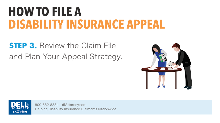 3. Review The Claim File And Plan Your Appeal Strategy