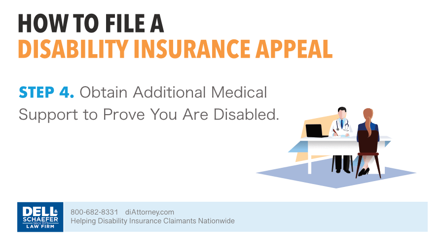 4. Obtain Additional Medical Support To Prove You Are Disabled