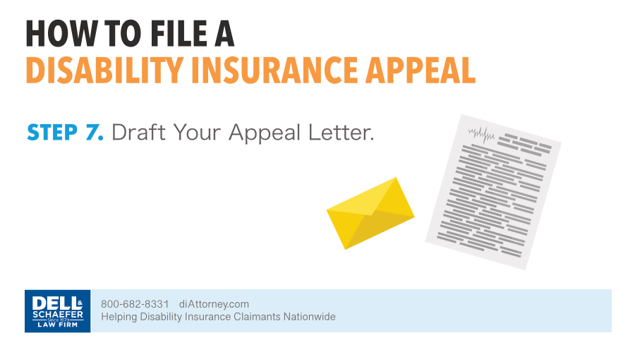 7. Draft Your Appeal Letter
