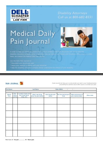 Free Pain Journal