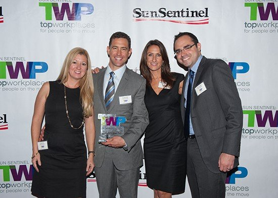 Attorneys Dell & Schaefer and Gregory Dell Win Top Workplaces Award from Sun Sentinel