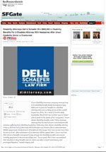 Attorneys Dell & Schaefer Recover $960,000 for Disabled Attorney