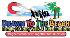Attorneys Dell & Schaefer team up with Magnet Schools at Drawn to the Beach 5K