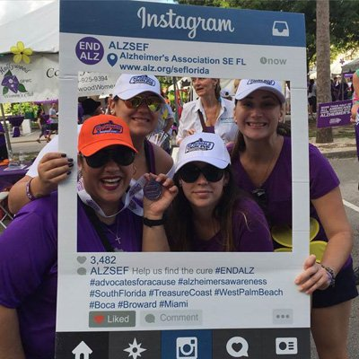 Team Dell & Schaefer Walk to End Alzheimer's