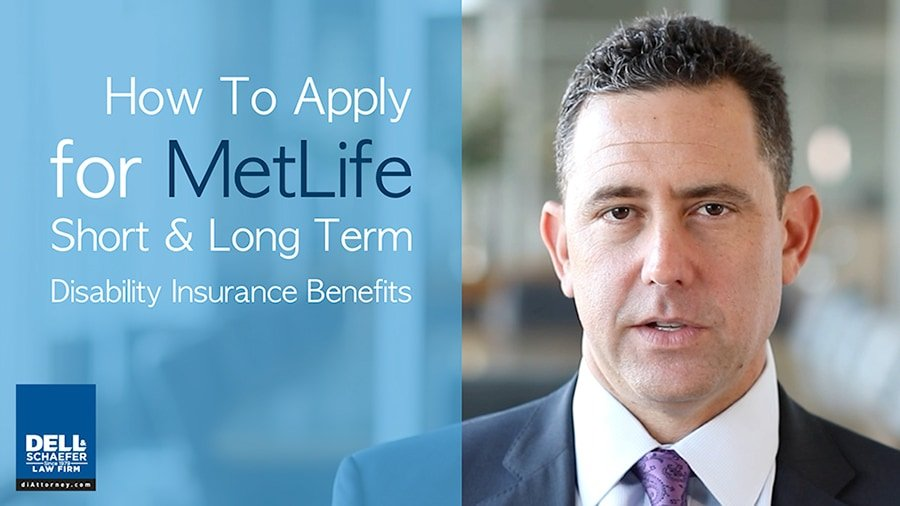 How To Apply for Metlife Short- & Long-Term Disability Insurance Benefits
