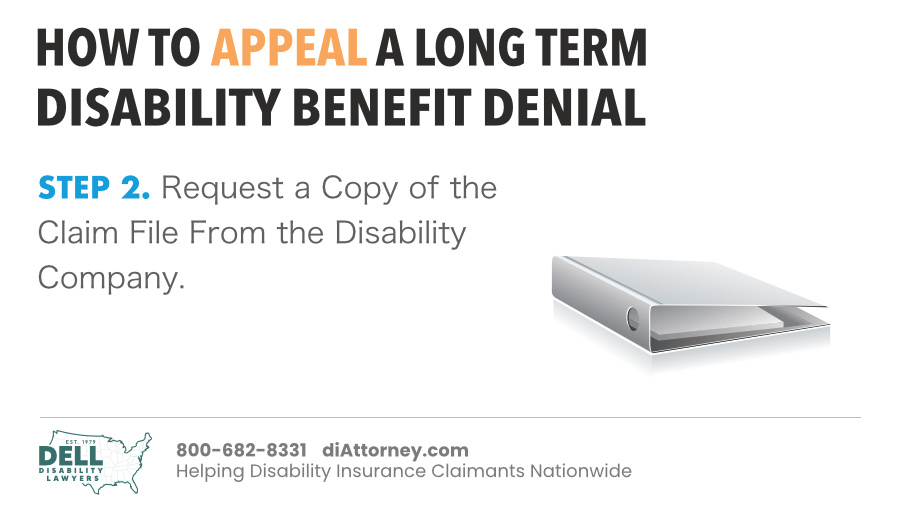 Request A Copy Of The Claim File From The Disability Company
