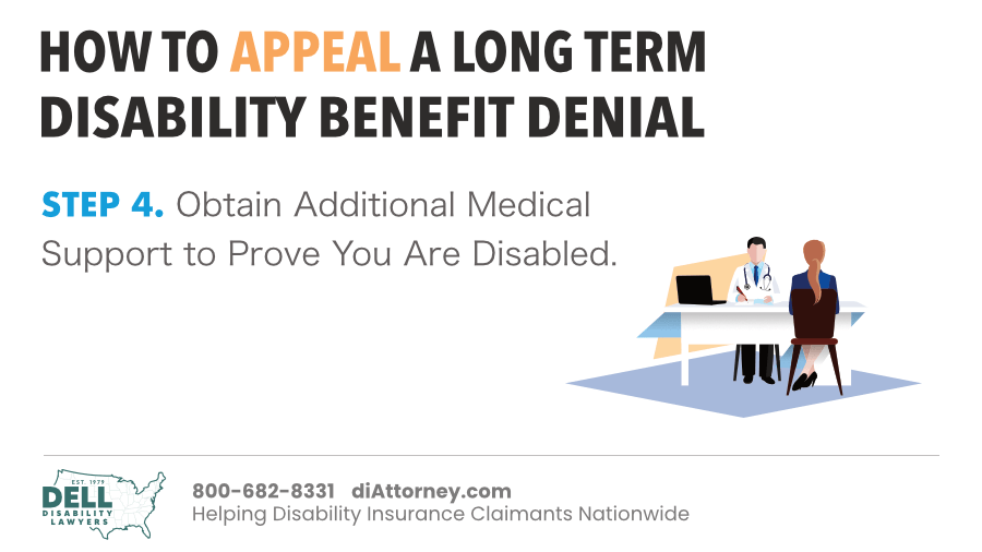 Obtain Additional Medical Support To Prove You Are Disabled